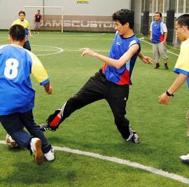 Pertandingan Futsal Antar Guru Jakarta Islamic School