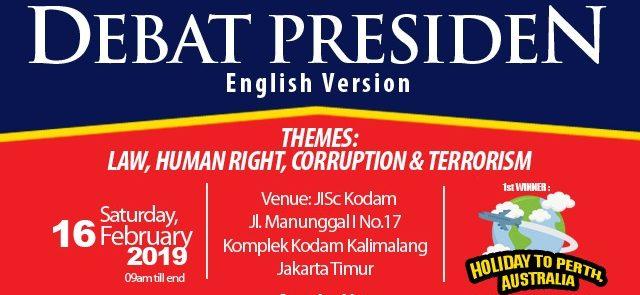DEBAT PRESIDEN ENGLISH VERSION