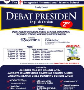 DEBAT PRESIDEN ENGLISH VERSION 2nd