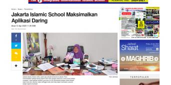 Jakarta Islamic School Maksimalkan Aplikasi Daring